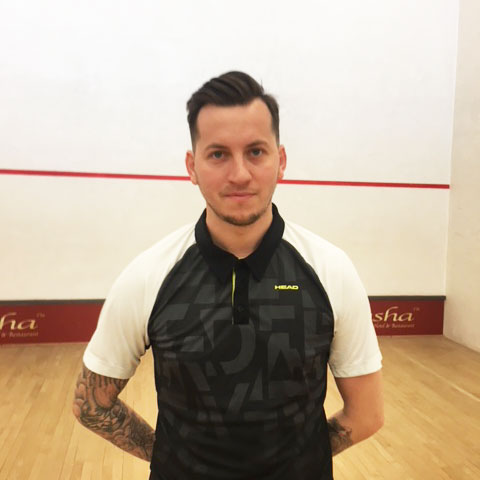 Squash and Racketball Coach Ted Jeal