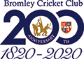 Bromley Cricket Club – Cricket, Tennis and Squash in Bromley, Kent. Logo